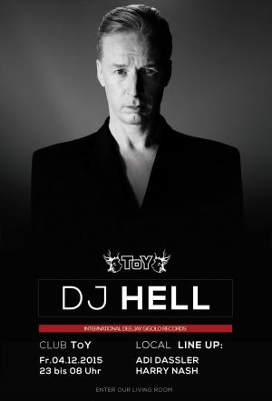 Club Toy Stuttgart - DJ HELL