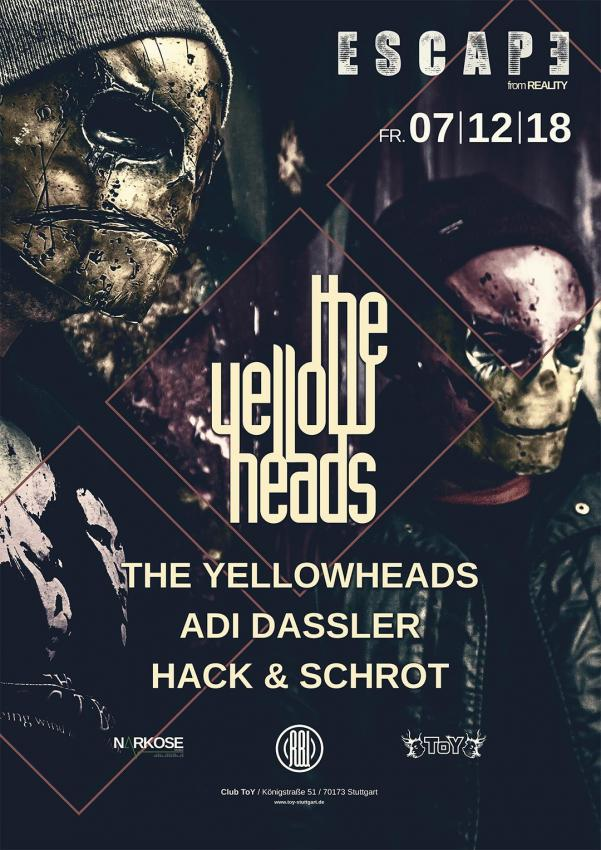 Club Toy Stuttgart - Escape The Yellow Heads