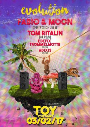 Club Toy Stuttgart - Fabia and Moon Live pres by Evolution