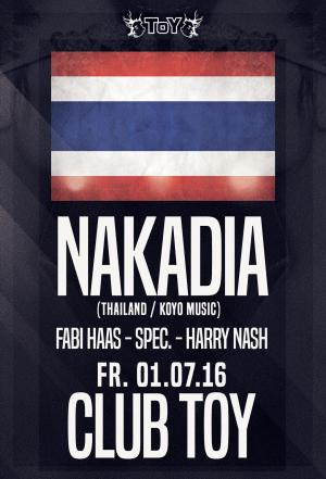Club Toy Stuttgart - Nakadia  @ ToY Club
