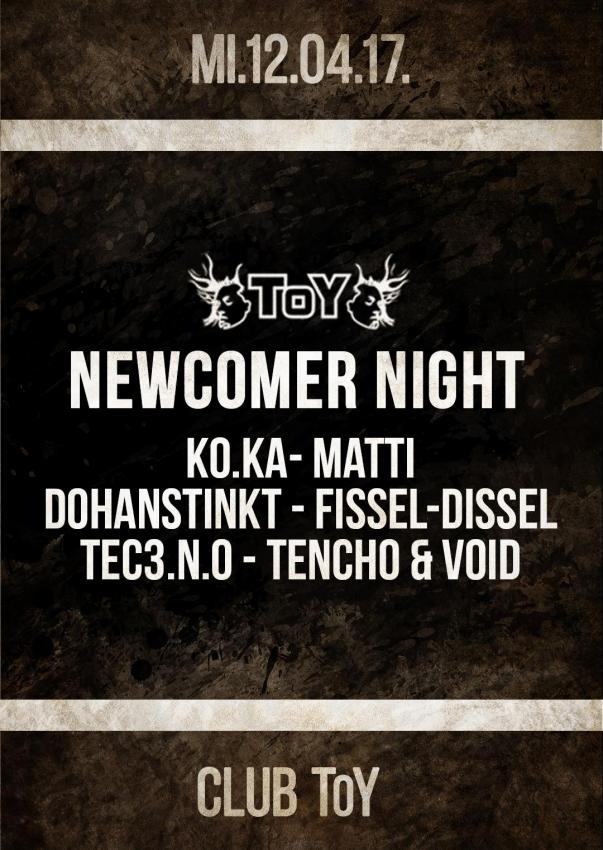 Club Toy Stuttgart - Newcomer Night