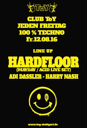 Club Toy Stuttgart - HARDFLOOR